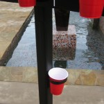BasketPong wash cup