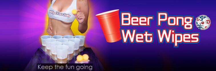 Beer Pong wipes Featured