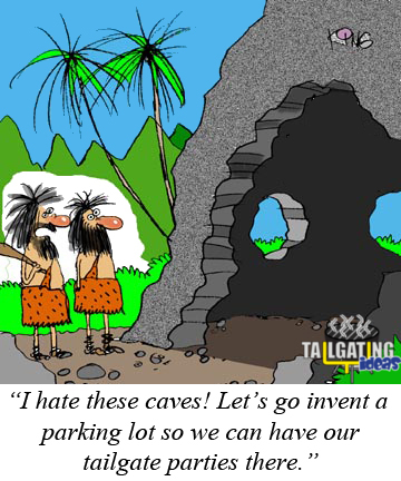 Cavemen Tailgaters