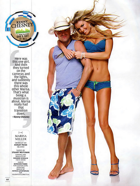 Kenny Chesney-Marisa Miller