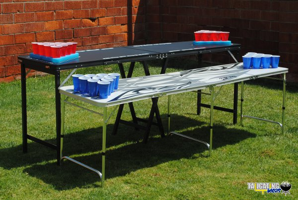 Gopong pro beer pong table review tailgating ideas - Professional beer pong table ...
