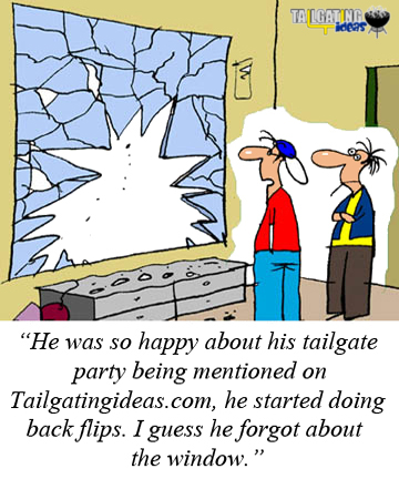 Flipped out tailgater