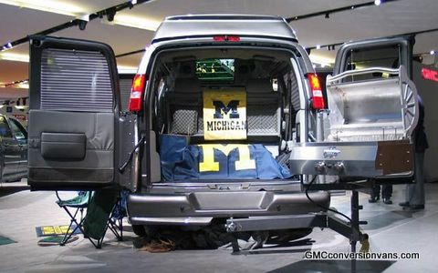 Tailgating In A Conversion Van Tailgating Ideas