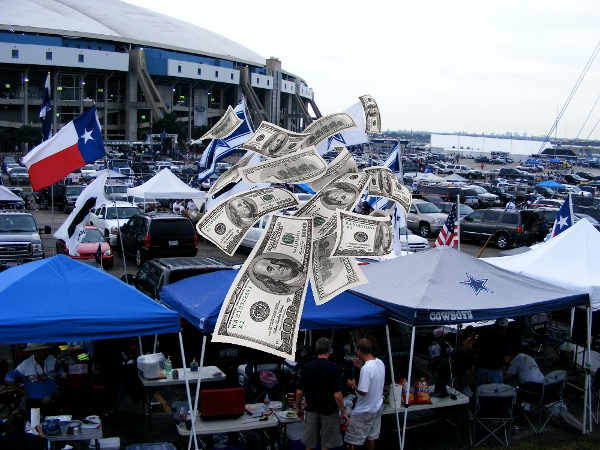 Dallas Cowboys money saving tailgate