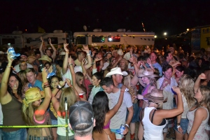 Stagecoach camping and Tailgating