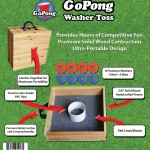GoPong Washer Toss packaging Back