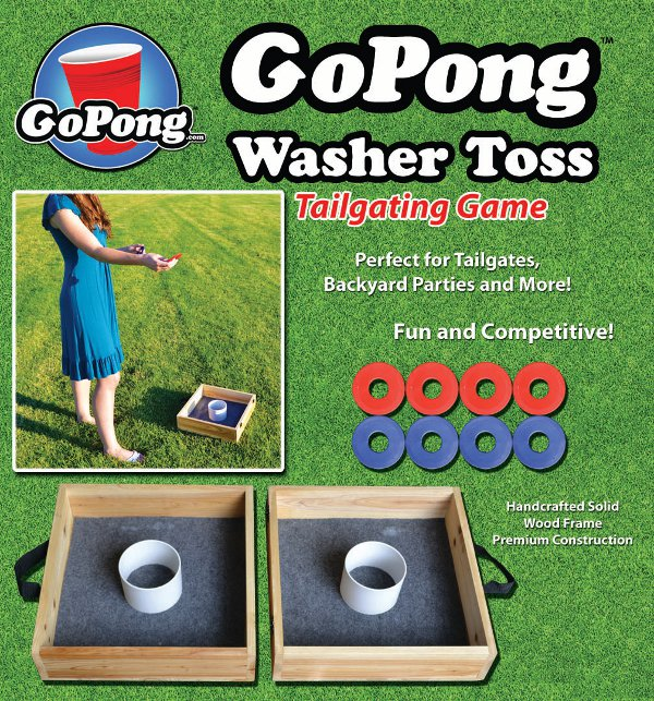 Gopong washer toss review tailgating ideas gopong washer toss packaging front solutioingenieria Gallery
