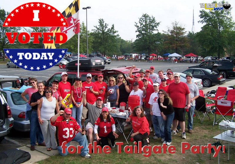 Vote for the tailgate party