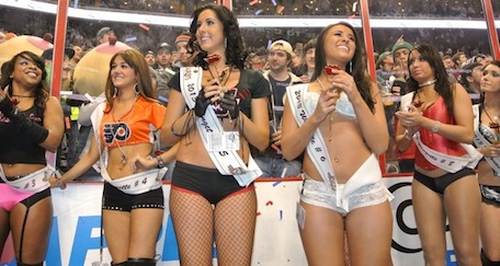Wingettes Wing Bowl 2013