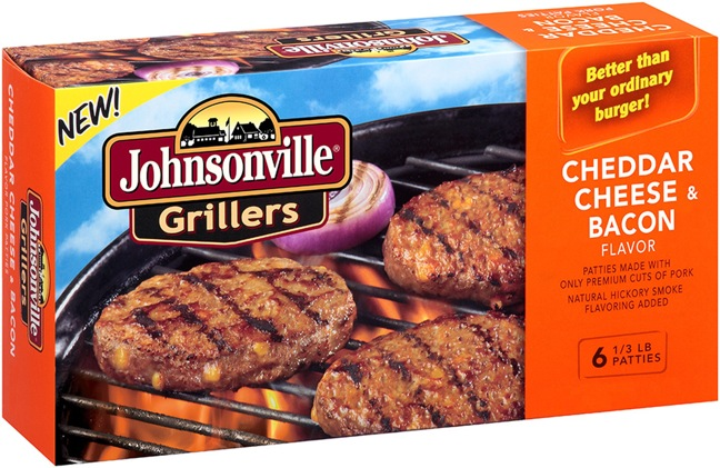 JOHNSONVILLE SAUSAGE, LLC CHEDDAR CHEESE AND BACON