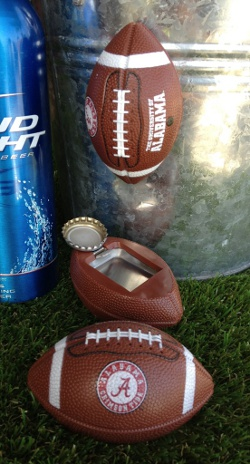 Alabama Footballer bottle opener