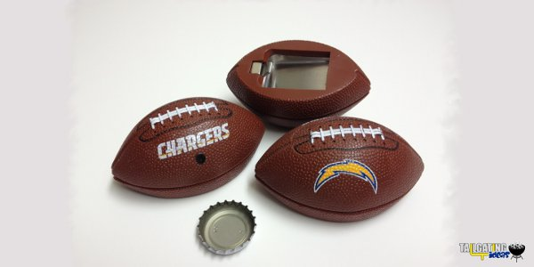 San Diego Chargers Footballer bottle opener