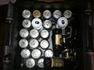 Flip-Box Cooler packed