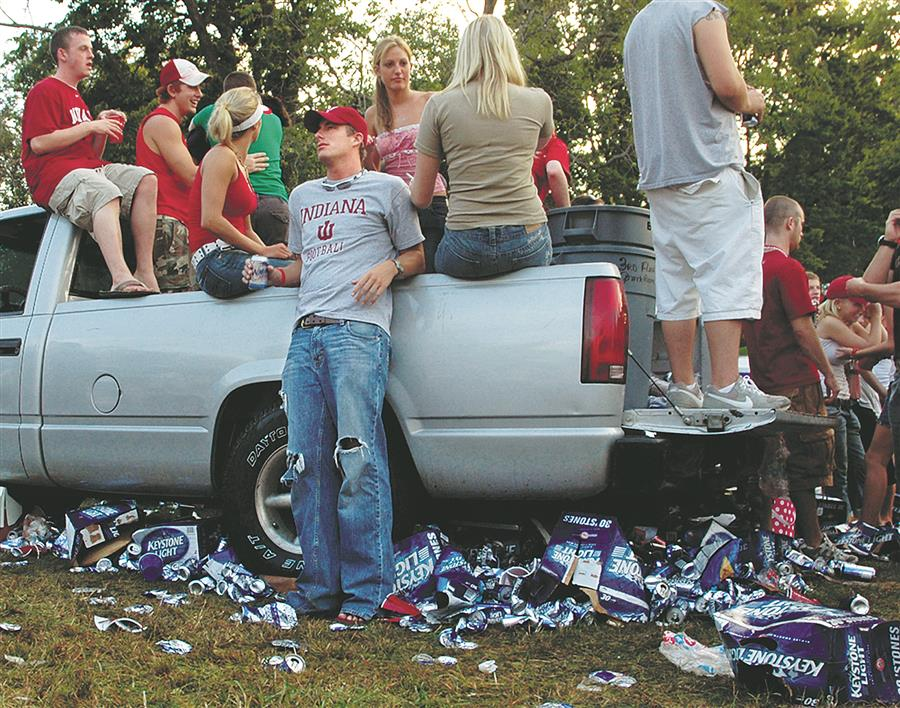 Indiana football tailgating