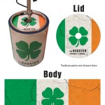 Irish Flag Kegster Wrap