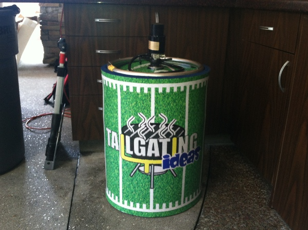 Tailgating Ideas Kegster Wrap