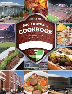 Pro Football Cookbook Cover