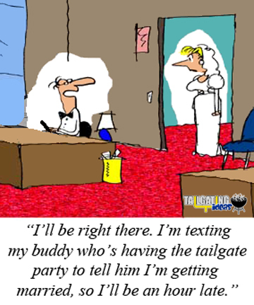 Late Groom Tailgater