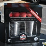 King of Beer Pong Stainless Steel Cups