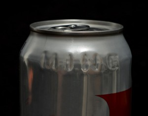 Diet coke properly stamped