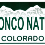 Bronco Nation tailgate tag
