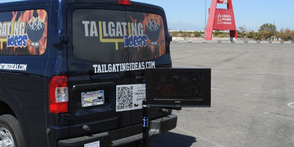 Tailgate TV Stand Featured