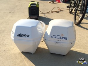 DISH Tailgater and VuQube side-by-side