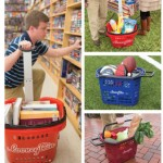 Rolling baskets good for all types of activities