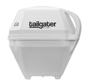 DISH Tailgater portable satellite TV antena