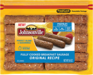 Johnsonville Fully Cooked Breakfast Sausage