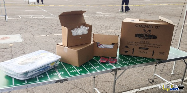 The Tailgating Kit - Standard Kid unloaded