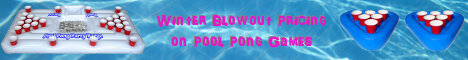 Pool Pong Winter Blowout AD