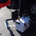 Pelican Cooler angled