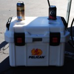 Pelican Cooler close up