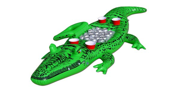 Party Gator floating cooler