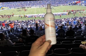 Hair Spray Flask NFL Stadium