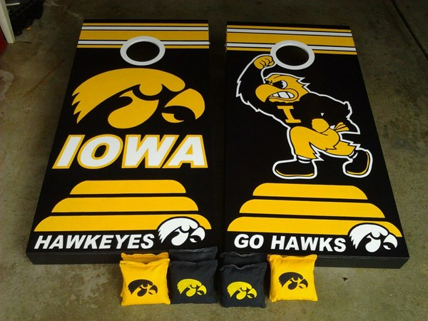 Iowa Hawkeyes CornholeBoards