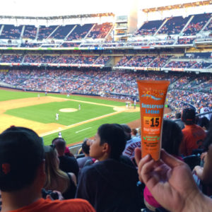 Sunscreen Flask Petco Park