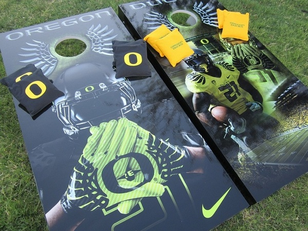 oregon cornhole board