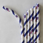 Buffalo Bills eco-Flex paper drinking straws
