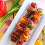 Stubb's Game Day Sausage Kebabs