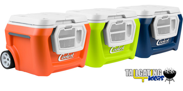 The Coolest Cooler comes in three colors