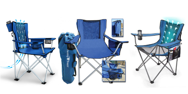 Traveling Breeze Fan-Cooler Chair
