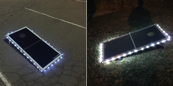 Pro Glow Cornhole Lights Featured