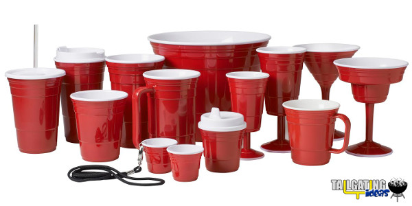 Red Cup Living family of products