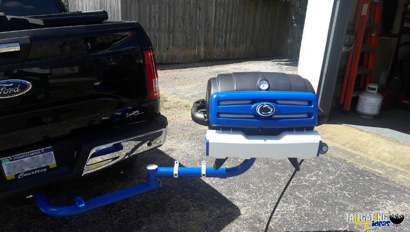 Penn State customized tailgating grill