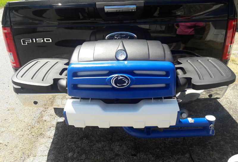 Penn State custom tailgating grill