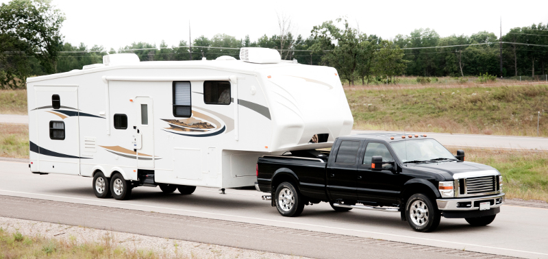 Towing a 5th wheel