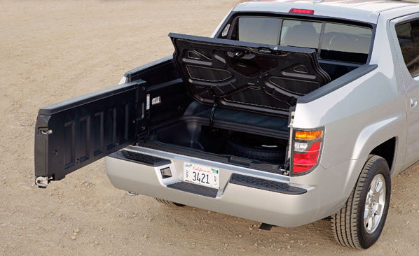 Honda Ridgeline bed features
