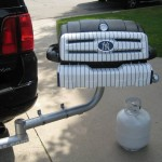New York Yankees Tailgating Grill.